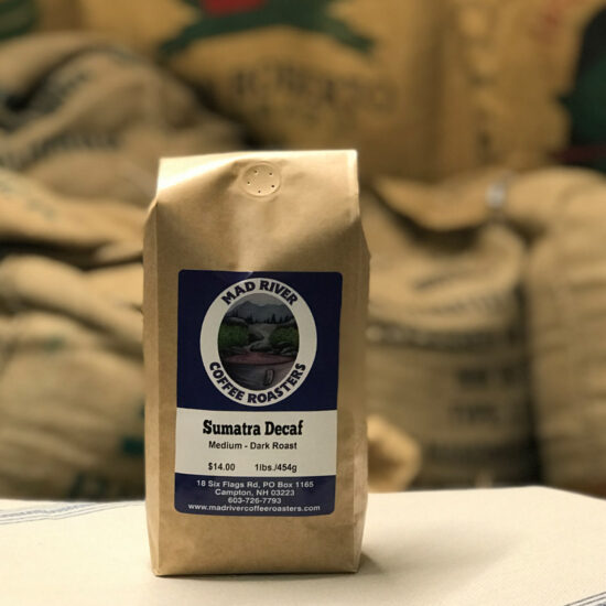 Mad River Coffee Roasters Sumatra Decaf